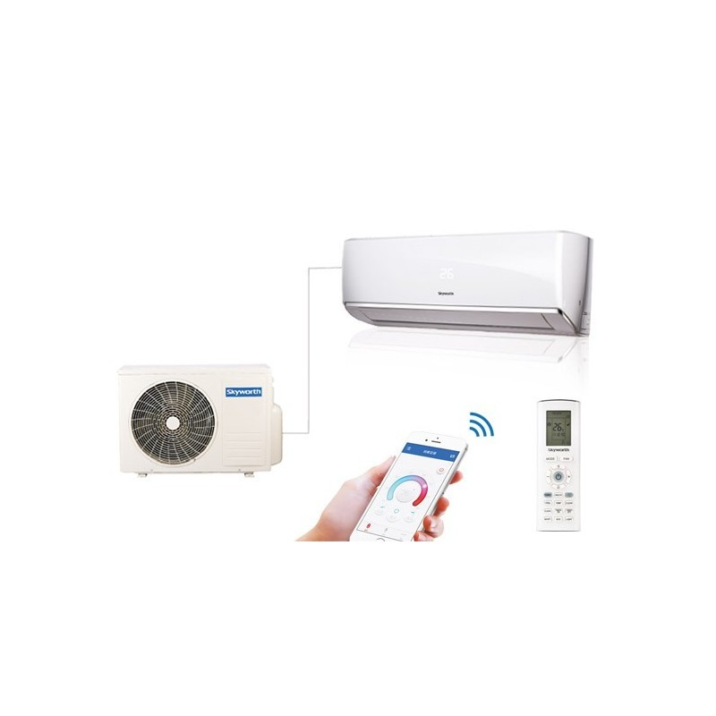 SKYWORTH MOD. SMVH09A INVERTER 9000 BTU CON POMPA DI CALORE